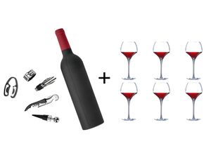 Creatable Weingläser+Weinöffner
