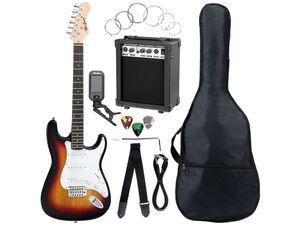 McGrey E-Gitarre Komplettset ST