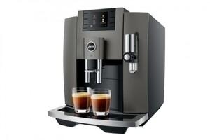 JURA Kaffeevollautomat E8 dark inox