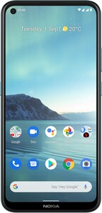 3.4 Smartphone blau