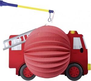 TIB Heyne Laterne Feuerwehrauto ,  1 Stück