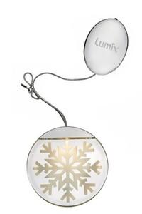 """Krinner Lumix LED Deko Light """"Schneeflocke, LED, Ø 10 cm"""""""