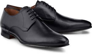 Ludwig Görtz, Derby-Schnürschuh in schwarz, Business-Schuhe für Herren