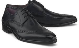 Melvin & Hamilton, Schnürschuh Lance 2 in schwarz, Business-Schuhe für Herren