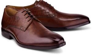 Melvin & Hamilton, Derby-Schnürer Greg 4 in dunkelbraun, Business-Schuhe für Herren