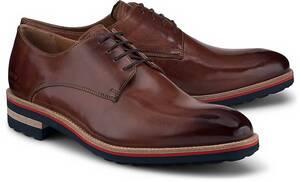 Melvin & Hamilton, Derby-Schnürer Tom 8 in mittelbraun, Business-Schuhe für Herren