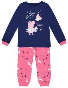 Mädchen Peppa Pig-Pyjama Set aus Langarmshirt und Hose