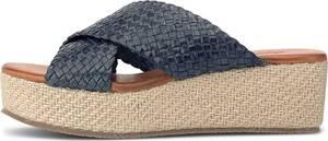 Drievholt, Keil-Pantolette in dunkelblau, Sandalen für Damen