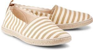 Flare & Brugg, Trend-Espadrille in beige, Espadrilles für Damen