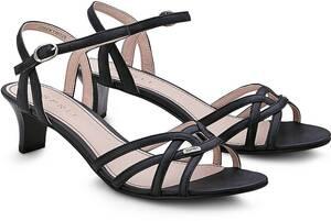 Esprit, Sandalette Birkin in schwarz, Sandalen für Damen