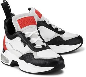 Karl Lagerfeld, Ventura Lazare Mid Ii in weiß, Sneaker für Damen