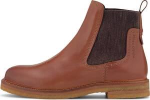 Marc O'Polo, Chelsea-Boots in mittelbraun, Boots für Damen