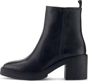 Marc O'Polo, Leder-Boots in schwarz, Stiefeletten für Damen