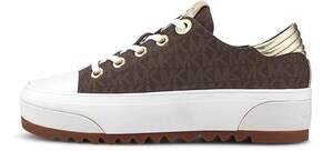 Michael Kors, Sneaker Keegan Lace Up in dunkelbraun, Sneaker für Damen