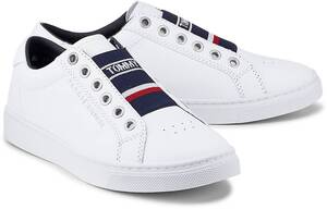 Tommy Hilfiger, Sneaker Elastic City in weiß, Sneaker für Damen