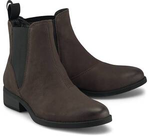 Vagabond, Chelsea-Boots Cary in dunkelbraun, Boots für Damen