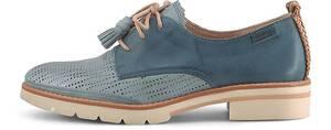 Pikolinos, Derby-Schnürer in hellblau, Schnürschuhe für Damen