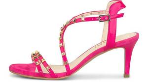 Lodi, Nieten-Sandalette Jacin in pink, Sandalen für Damen