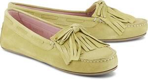 Pretty Ballerinas, Mokassin in gelb, Slipper für Damen