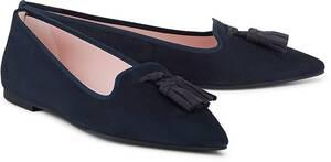 Pretty Ballerinas, Tassel-Loafer in dunkelblau, Slipper für Damen