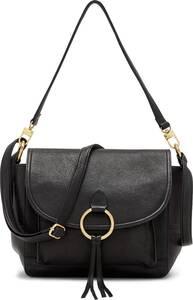 COX, Umhängetasche in schwarz, Umhängetaschen für Damen