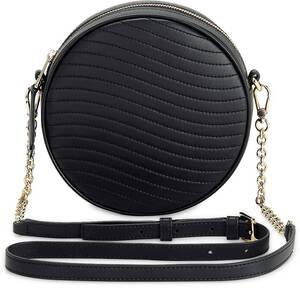 Furla, Umhängetasche Wave Mini Crossbody Round in schwarz, Umhängetaschen für Damen