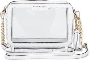 Michael Kors, Tasche Md Camera Bag in weiß, Umhängetaschen für Damen