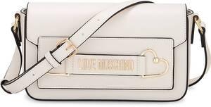 Love Moschino, Umhängetasche Love And More in weiß, Umhängetaschen für Damen