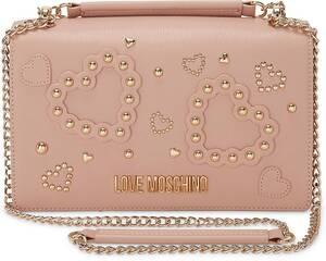 Love Moschino, Style-Umhängetasche in rosa, Umhängetaschen für Damen