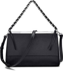 Marc Cain, Luxus-Umhängetasche in schwarz, Umhängetaschen für Damen