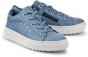 Lurchi, Schnürschuh Nuri in hellblau, Sneaker für Mädchen