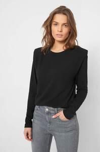 Shirt mit Schulterpolstern