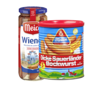 Meica Wiener Würstchen oder Metten