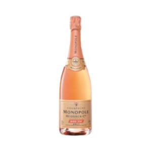 Champagner Heidsieck Monopole Rosé  Top brut