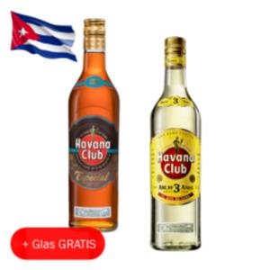 Havana Club Añejo 3 Años, Especial oder Verde