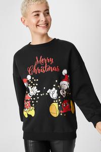 Weihnachts-Sweatshirt - Micky Maus