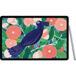 SAMSUNG Galaxy Tab S7+ WiFi, Tablet , 256 GB, 12.4 Zoll, Mystic Silver