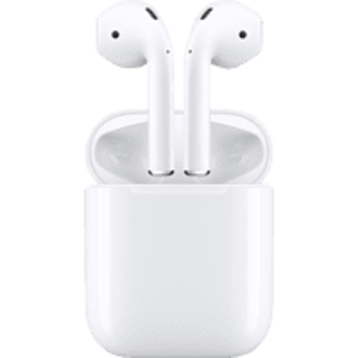 Bild 1 von APPLE AirPods mit Ladecase (2. Generation), In-ear True-Wireless-Kopfhörer Bluetooth Weiß