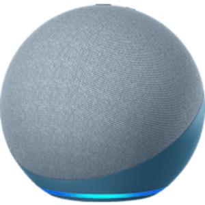 AMAZON Echo (4. Generation), mit Alexa, Smart Speaker, Blaugrau