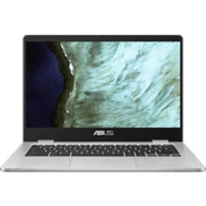 ASUS Chromebook C423 (C423NA-EB0243), Chromebook mit 14 Zoll Display, Pentium® Prozessor, 4 GB RAM, 64 GB eMMC, Intel HD Grafik 500, Schwarz/Silber