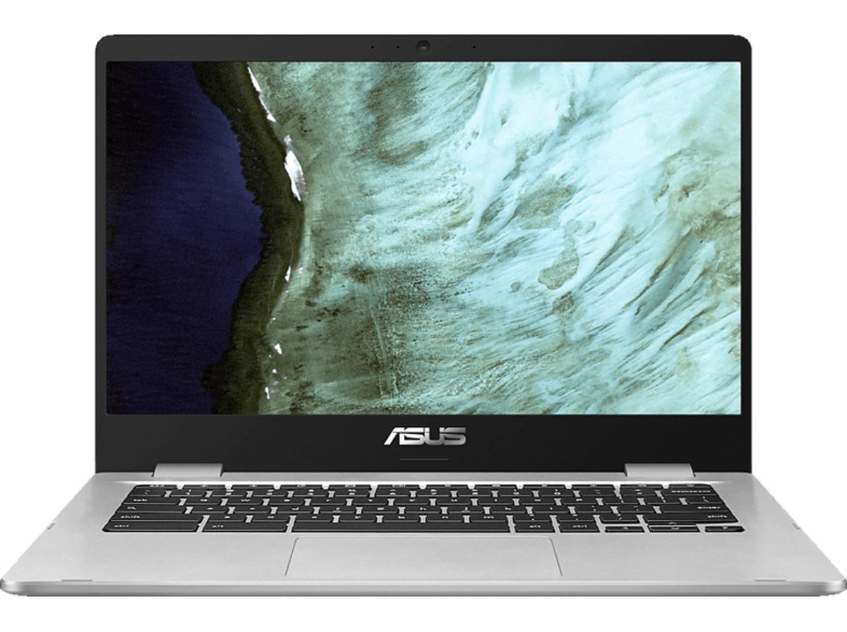 Bild 2 von ASUS Chromebook C423 (C423NA-EB0243), Chromebook mit 14 Zoll Display, Pentium® Prozessor, 4 GB RAM, 64 GB eMMC, Intel HD Grafik 500, Schwarz/Silber