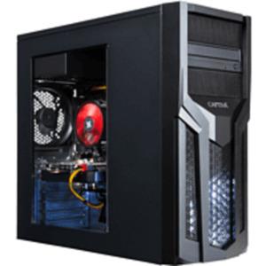 CAPTIVA R54-821, Gaming PC mit Ryzen 7 Prozessor, 16 GB RAM, 1 TB SSD, Radeon RX 5600 XT, 6 GB