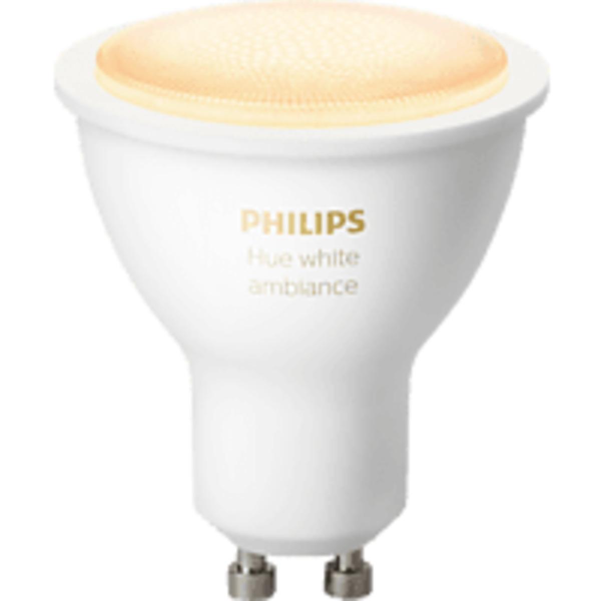 Bild 1 von PHILIPS HueWhite Amb. GU10 Bluetooth LED Lampe, Weiß