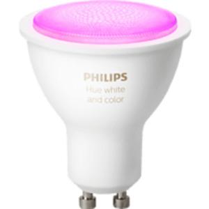 PHILIPS Hue White & Col. Amb. GU10 Bluetooth LED Lampe, Weiß