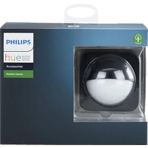 PHILIPS Hue Outdoor Sensor Bewegungsmelder Outdoor, Schwarz