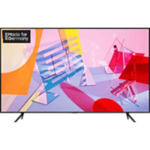 SAMSUNG GQ50Q60T,  QLED TV, Nachtschwarz