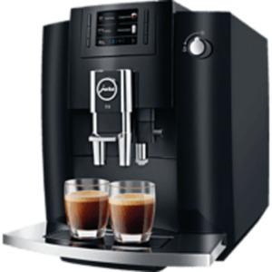 JURA E6  Piano Black (EB) Kaffeevollautomat in Piano Black