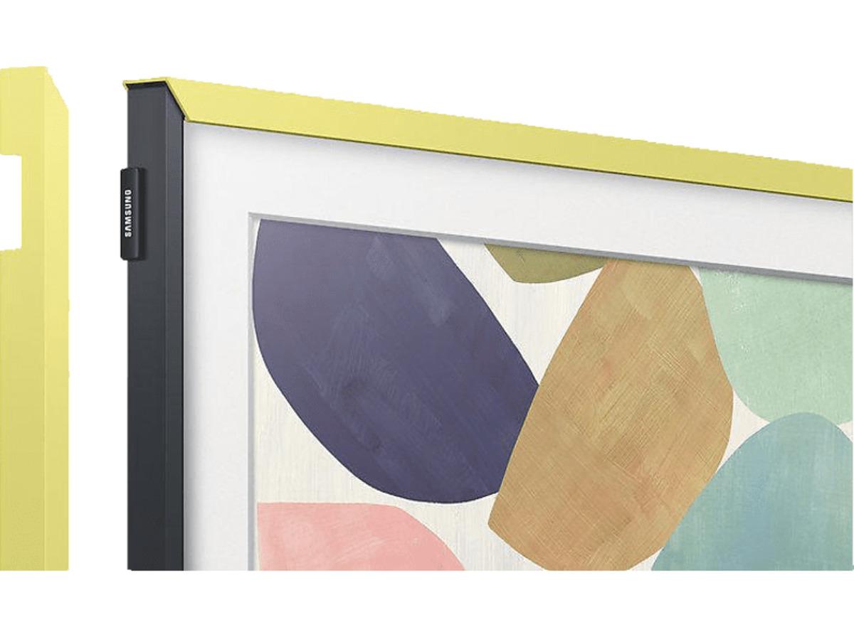 """Bild 2 von SAMSUNG Customizable Frame 32"""" TV Rahmen,  in Gelb"""
