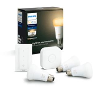 PHILIPS Hue White Amb. E27 3-er Bluetooth Starter Kit