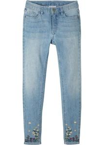 Mädchen Skinny-Jeans mit Druck